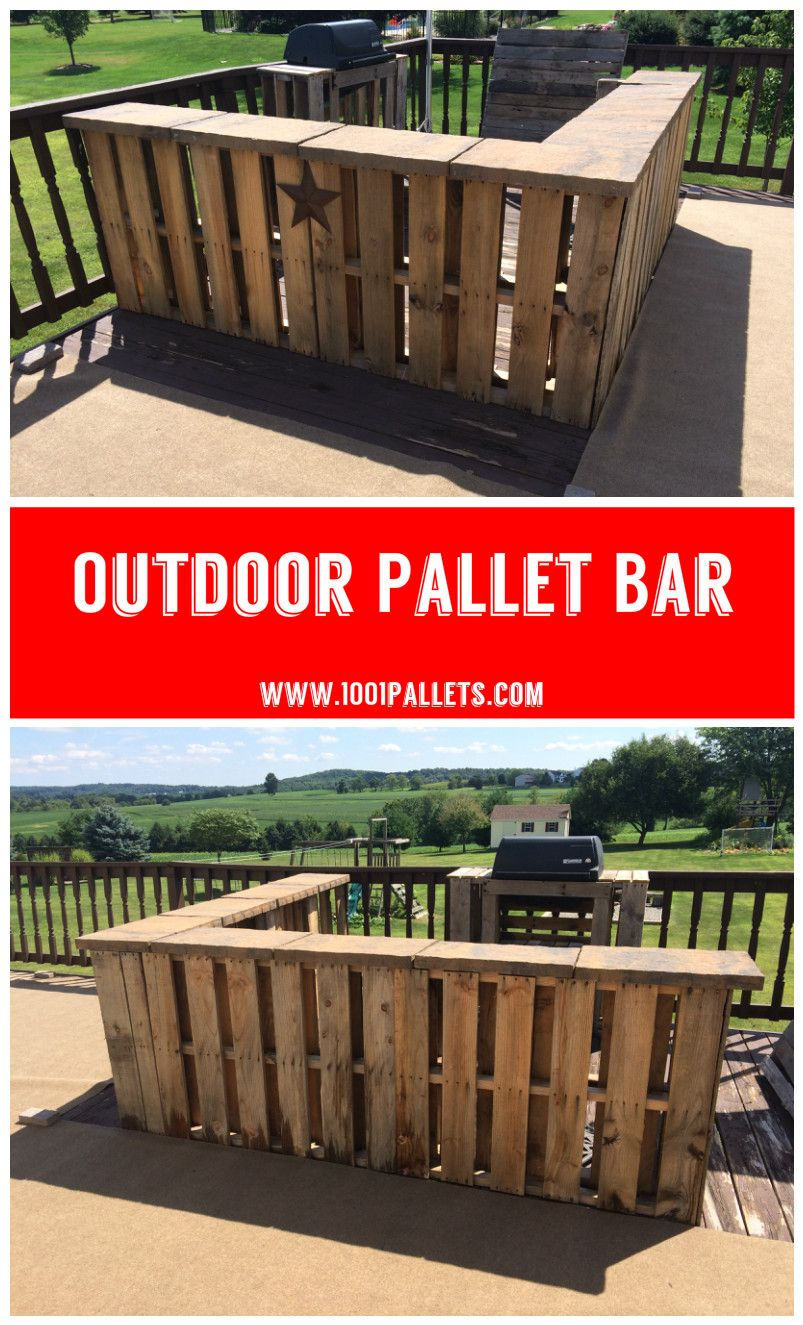 Outdoor pallet bar outdoor ideas pinterest pallet outdoor