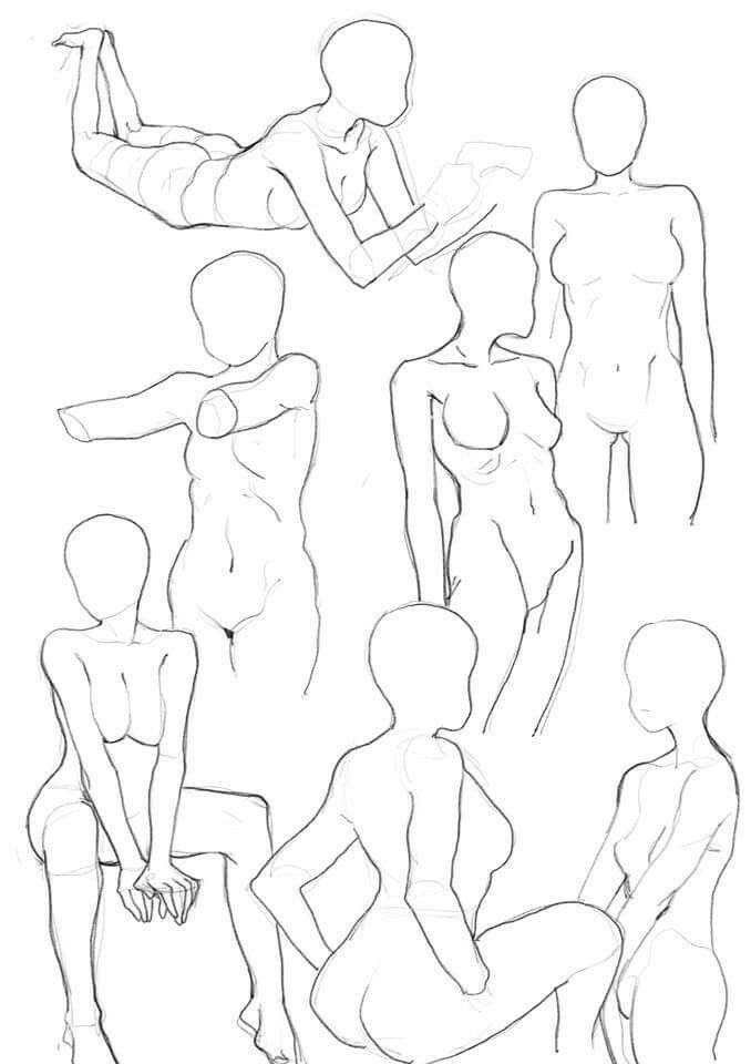 Pin by Pencil Bean on Dáng | Pinterest | Pose, Draw and Anatomy