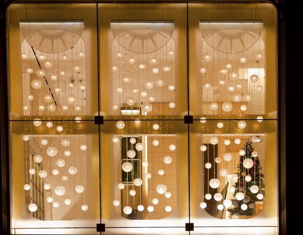 How To Decorate A Window With Christmas Tree Lights Christmas Window Decorations Christmas Window Lights Hanging Christmas Lights