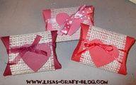 Sencillos envoltorios con tubos de cartón para San Valentín ;)