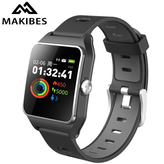 1 Year Warranty Makibes BR3 GPS 17 kinds sports Smart