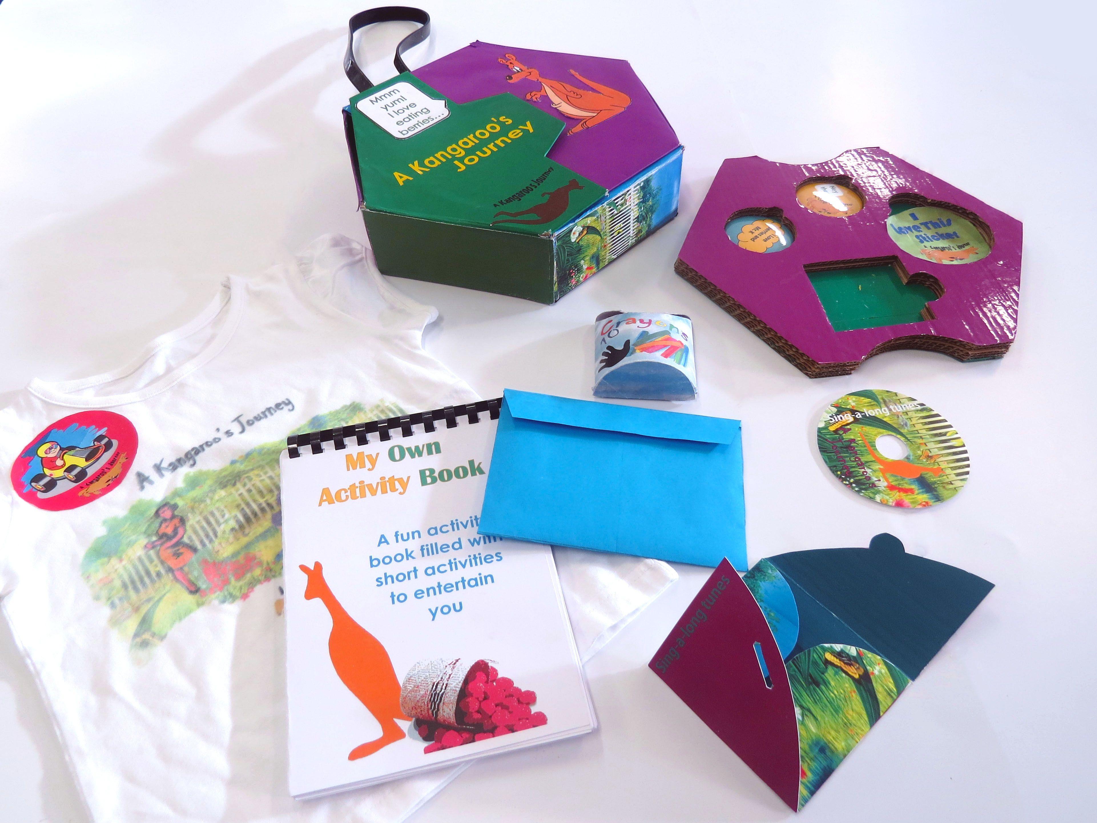 A Kangaroo S Journey Activity Pack