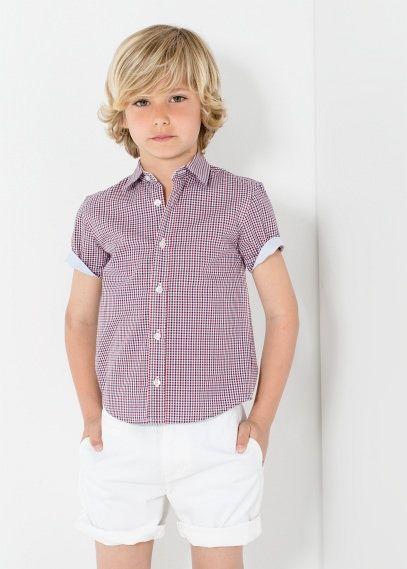 off shoulder poplin blouse checked shirts. Black Bedroom Furniture Sets. Home Design Ideas