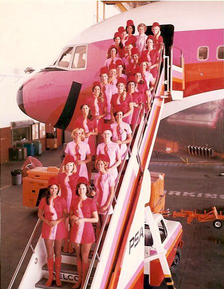 pink plane