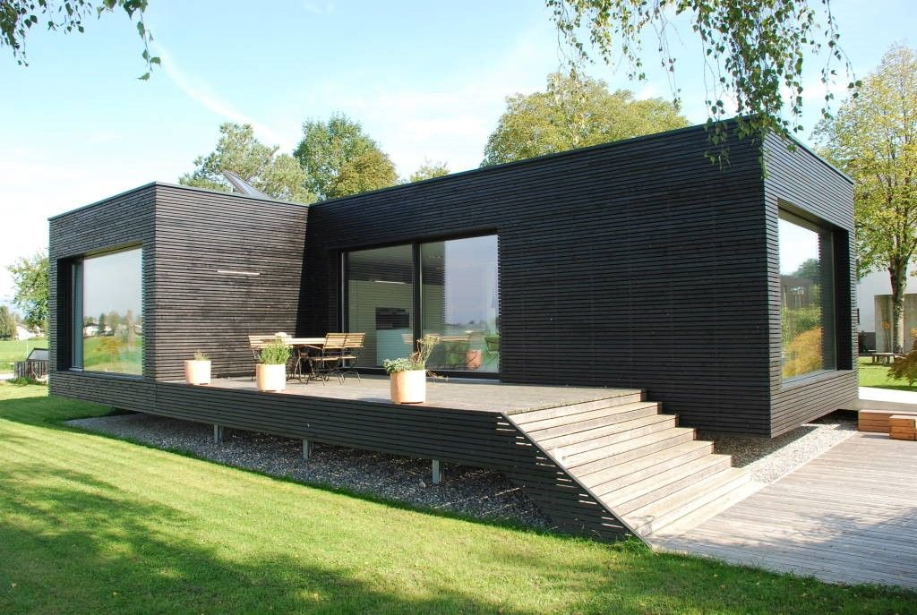 Container House - Une maison moderne préfabriquée ... où emménager ...