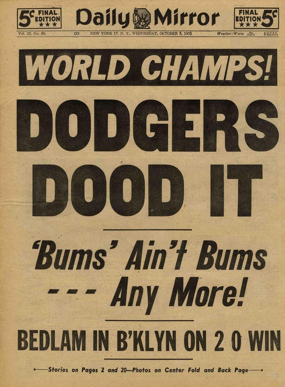 Pin by ☘️ RJ Hayden ☘️ on Brooklyn Dodgers (With images