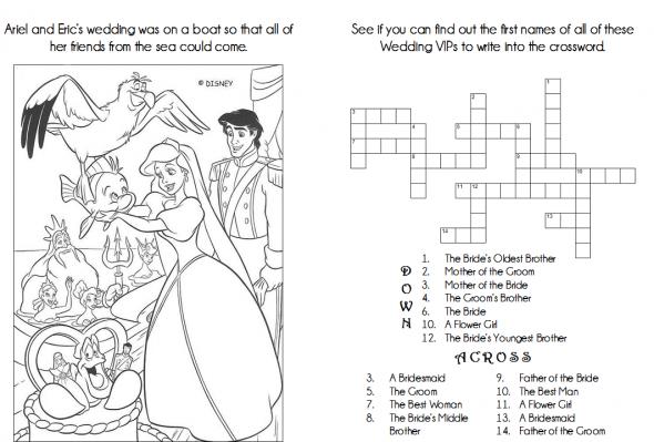 Kids' Activity Book : wedding activity book black ceremony ...