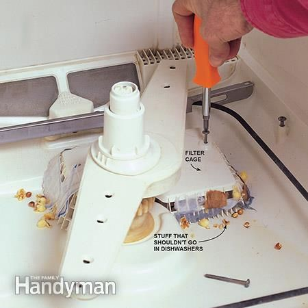 Dishwasher Not Draining How To Check And Unclog A Dishwasher