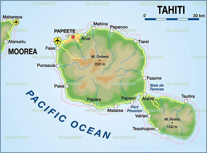 Tahiti Map - Yahoo Image Search Results | Tahiti and ...