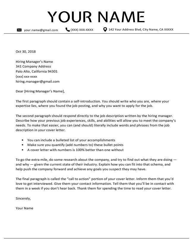 How To Write A Cover Letter 10 Example Cover Letters In 2020 Cover Letter Template Free Job Cover Letter Professional Cover Letter