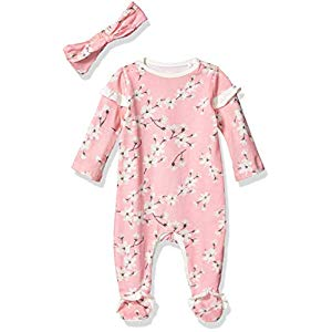 Jessica Simpson Girls Baby and Toddler Footie