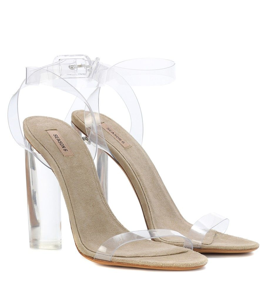 9a40c9d97a Yeezy - Transparent sandals (SEASON 6) - YEEZY takes minimalist footwear to  the next level this season with this pair of sandals that seem to float in  mid ...