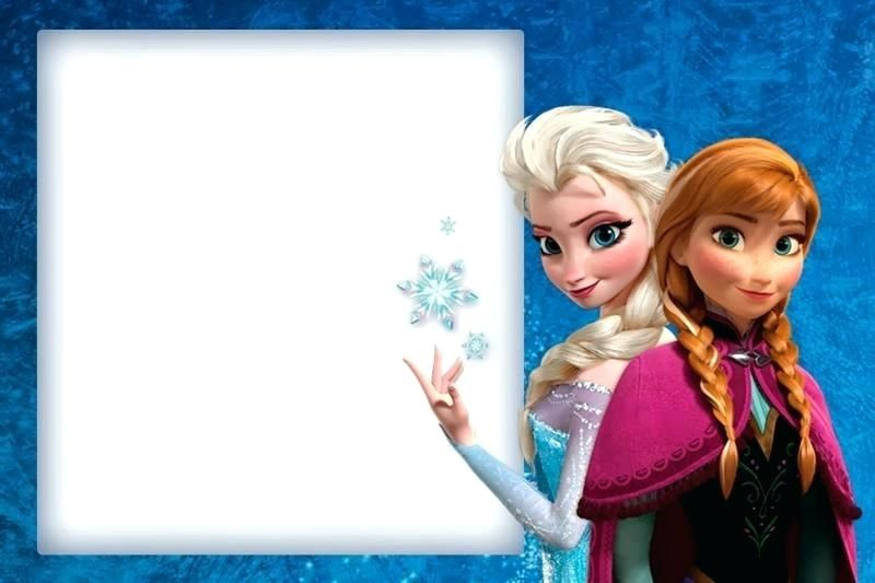 Best Of Frozen Birthday Invitation Template Free Download And Templates F FD