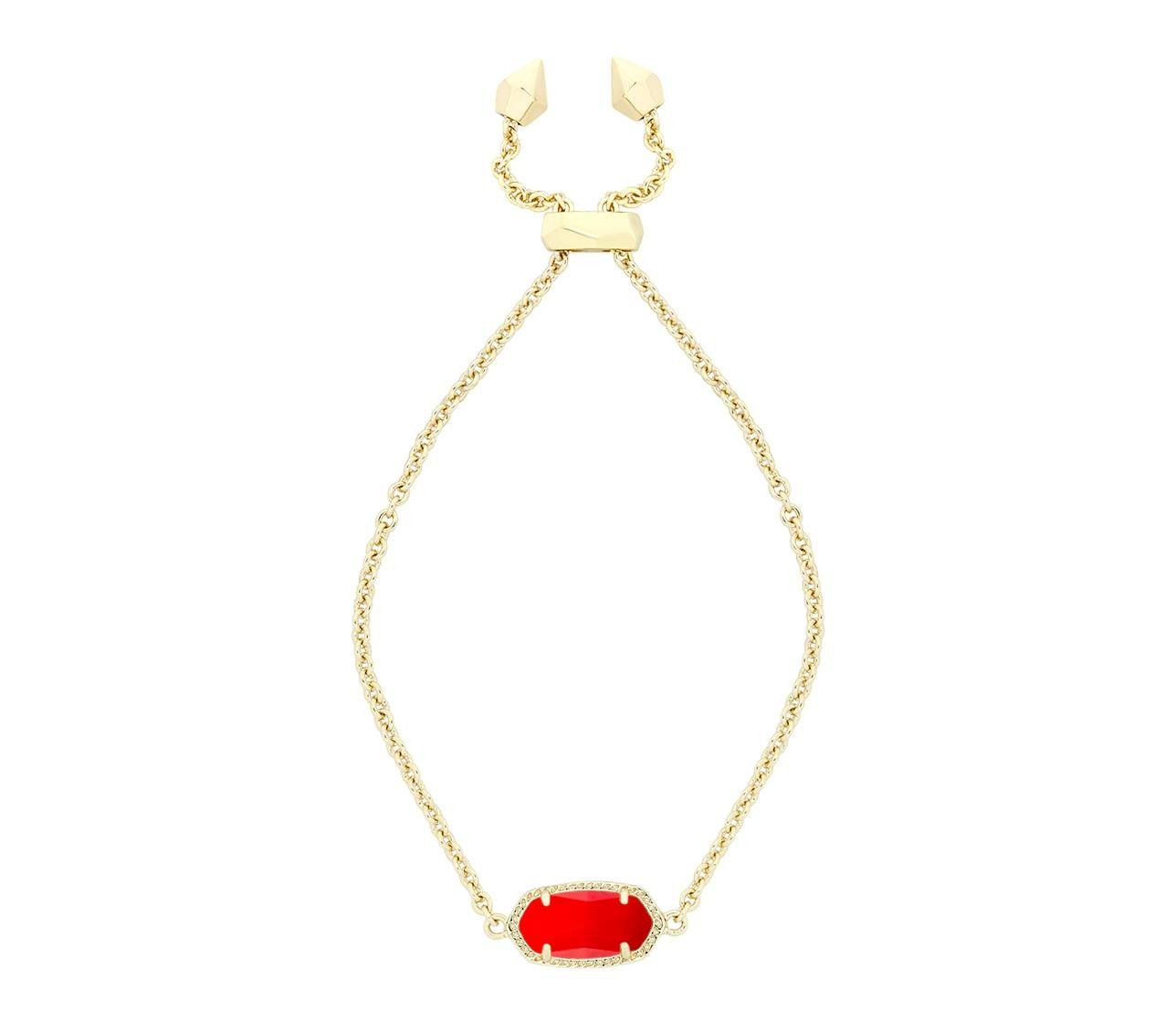 Kendra scott elaina bracelet in bright red products