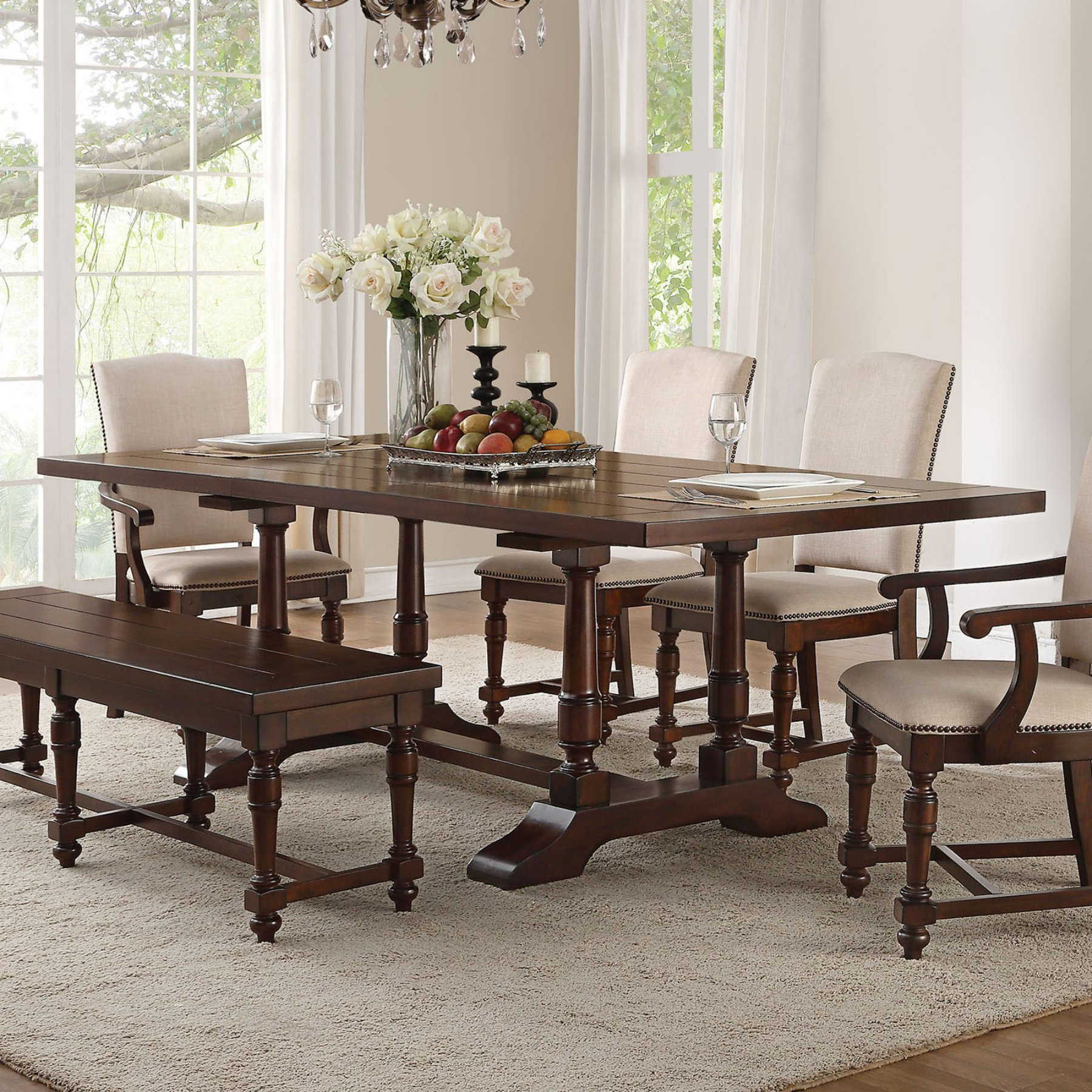 Acme Furniture Tanner Extension Dining Table  60830