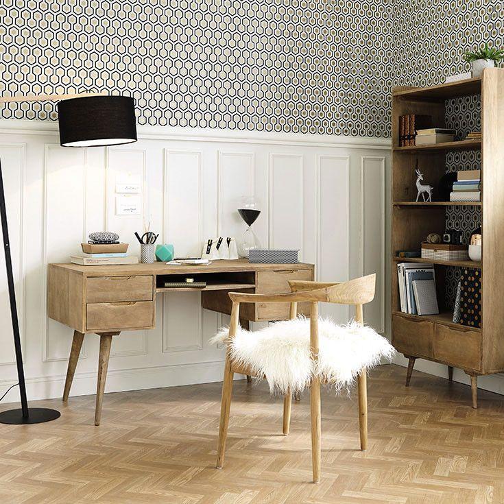 Muebles y decoraci n de interiores vintage maisons du monde ideas escritorio pinterest - Decoracion interiores vintage ...