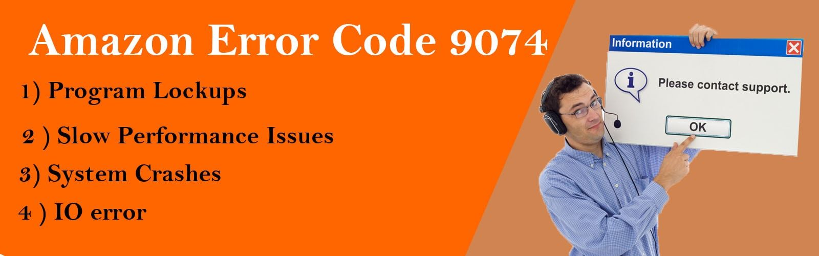 Fix amazon error code 9074 with best tollfree 1888488