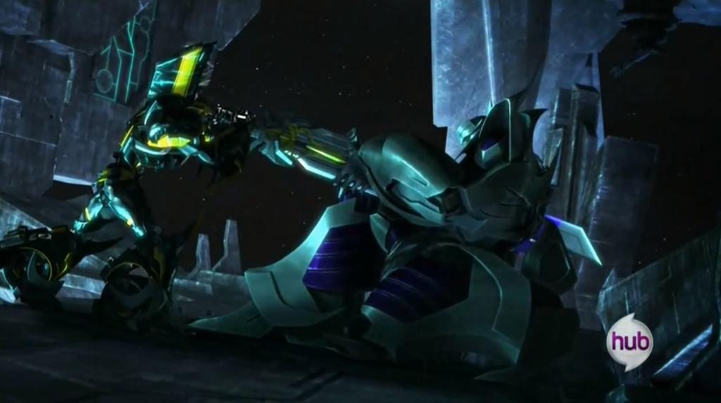 Spidyphan2 Deviantart: Bumblebee Kills Megatron 2 By Spidyphan2 On DeviantART