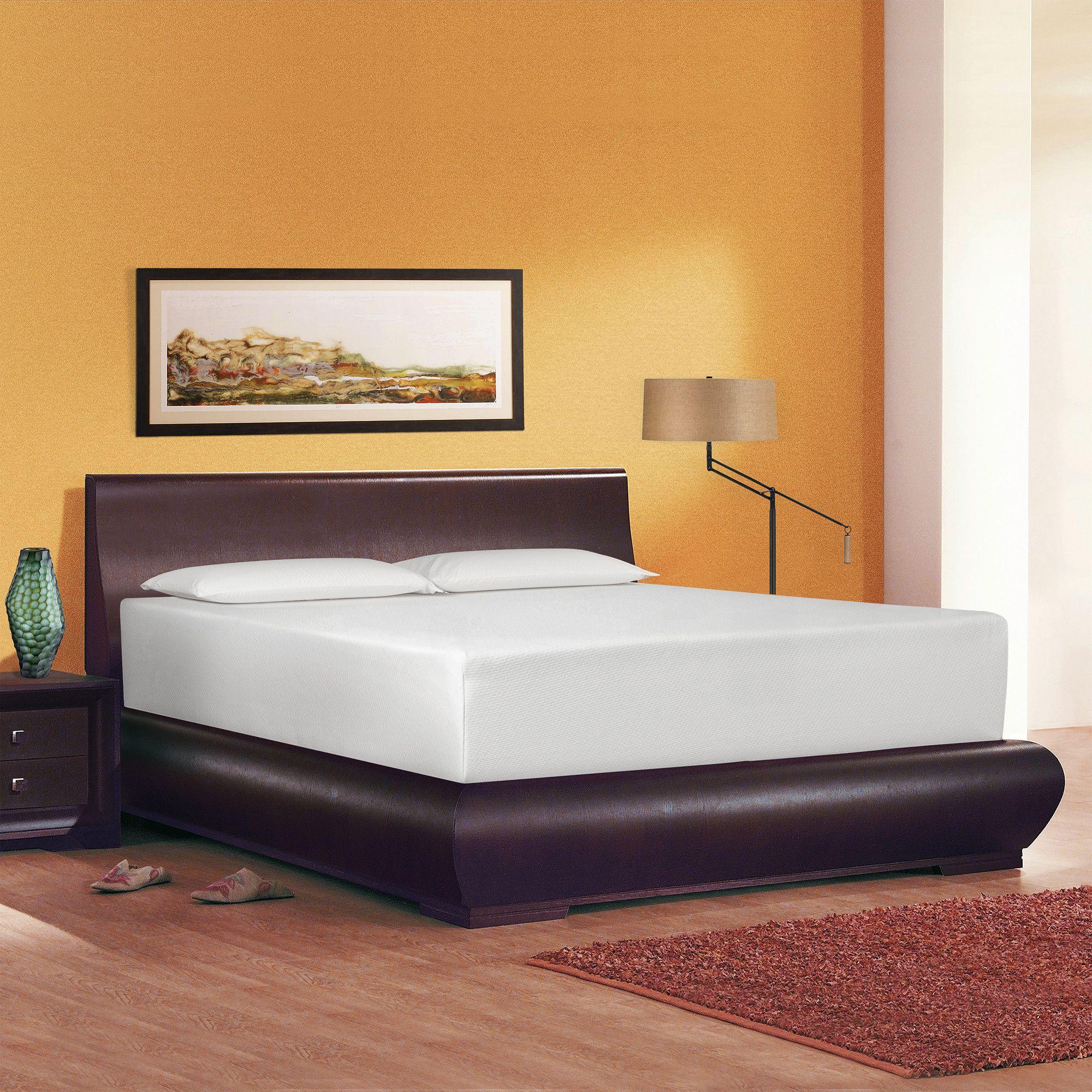 serenia sleep 14 memory foam mattress reviews wayfair memory