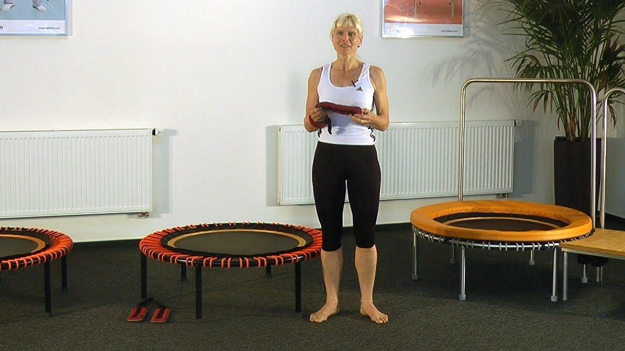 Übungsprogramm Fitness für Fortgeschrittene auf dem bellicon® Trampolin