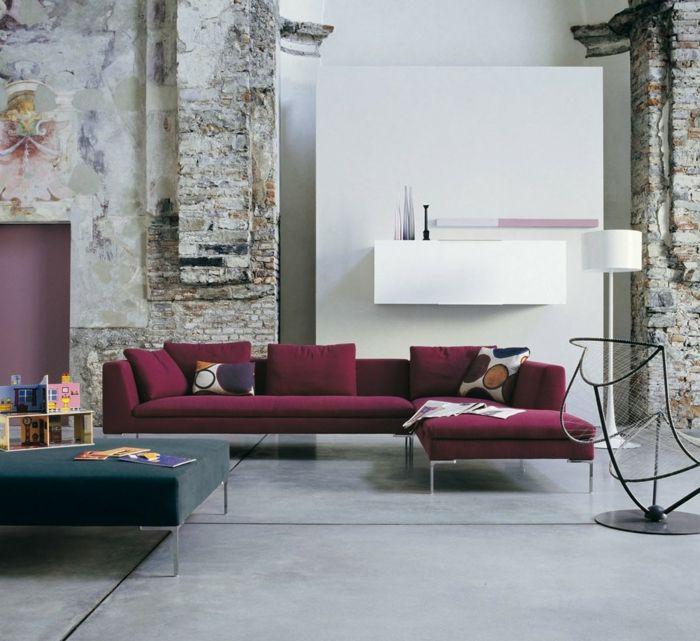 Welche Farbe Passt Zu Bordeauxrot – Wohn-design