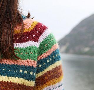 Photo of Flea Sweater / Loppisgenser pattern by Anna & Heidi Pickles