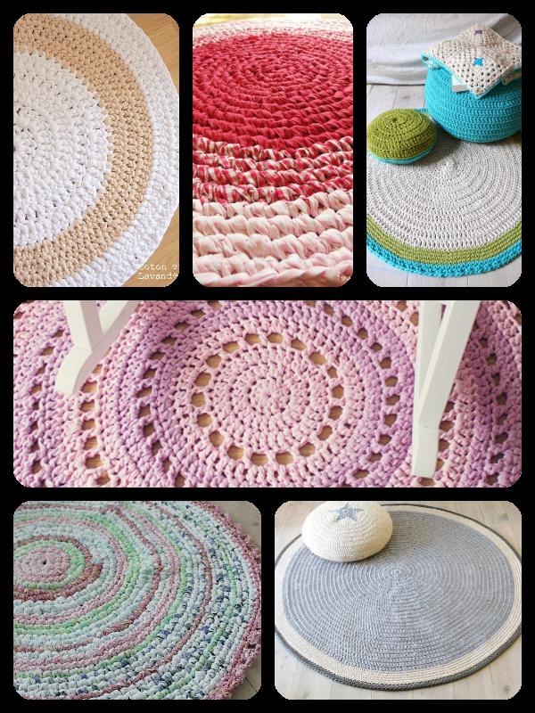 Alfombras de trapillo trapillo pinterest alfombras - Alfombras de trapillo ...