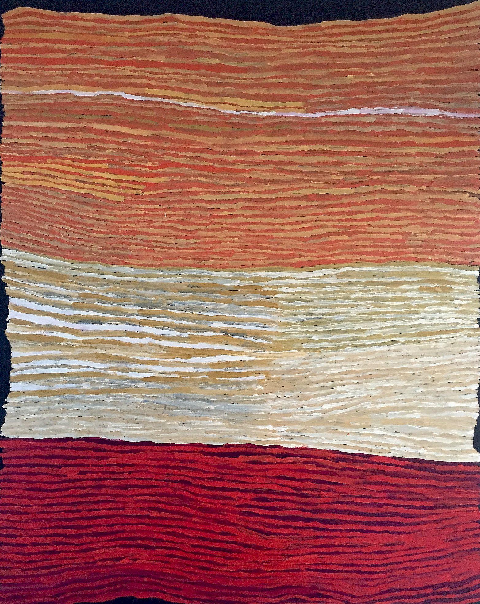 Ray Ken - Tali - Sand dune - 152x122 cm - 450-15 http://www.aboriginalsignature.com/art-aborigene-tjala/ray-ken-tali-sand-dune-152x122-cm-450-15