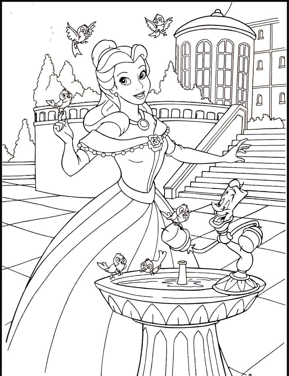 Prinzessinnen und Prinzen - Ausmalbilder für Kinder Malvorlagen