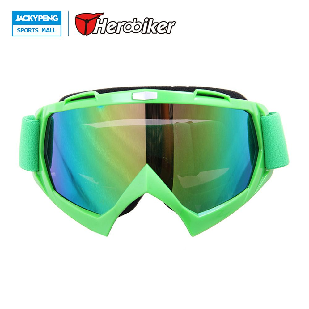 8256dcb0a1 New Motocross Off-Road Dirt Bike Glasses Eyewear Ski Snow Snowboard  Snowmobile Motorcycle Goggles Color