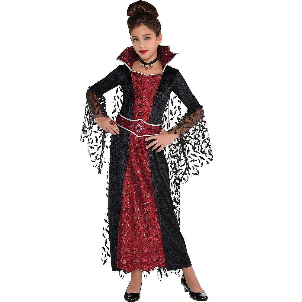 Girls Coffin Queen Vampire Costume Girls vampire costume