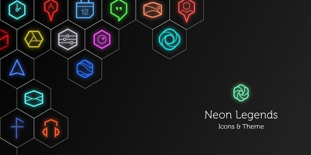 Neon Icons & Wallpapers APK for Blackberry | Download Android APK