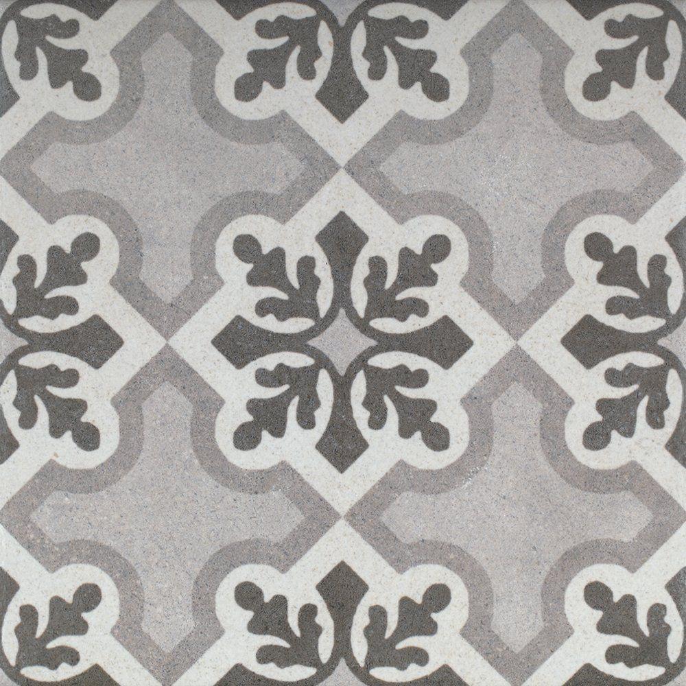 Decorative Tiles Uk Endearing Patterned Porcelain Floor Tile  Vintage Ruzafa  1 Square Metre Design Inspiration