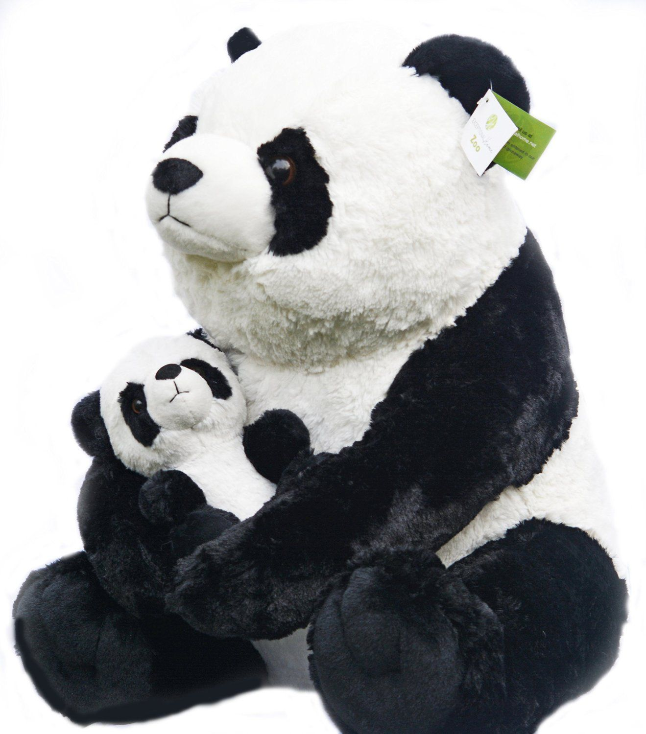 Amazon.com  Giant Panda Teddy Bear with Baby Panda - Plush Stuffed Animals  Gift Set 4c7bee47996e