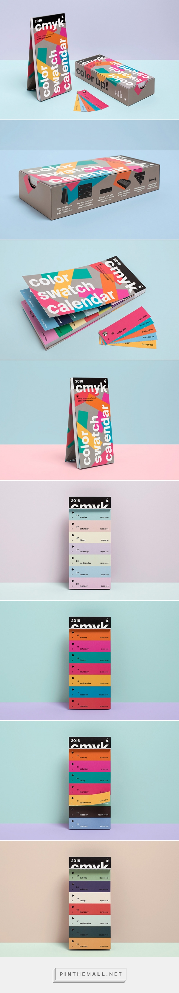 FPO: Color Swatch Calendar 2016 http://www.underconsideration.com/fpo/archives/2015/12/color-swatch-calendar-2016.php - created via https://pinthemall.net