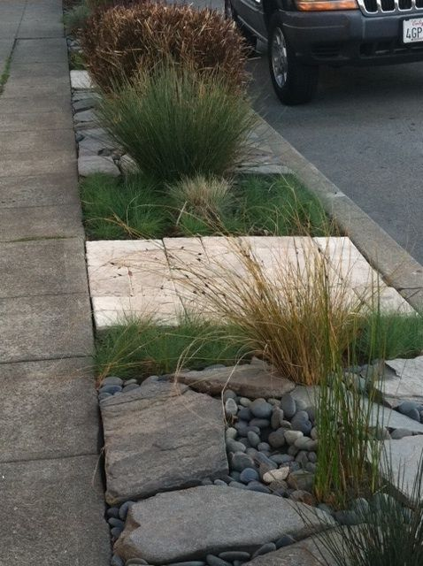 Landscape Designs For The Strip Between The Sidewalk And