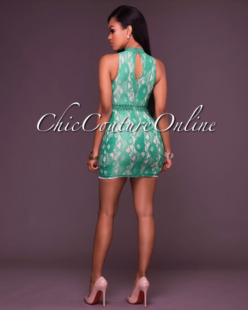 Excepcional Vestido De Cóctel Verde Oliva Ideas Ornamento ...