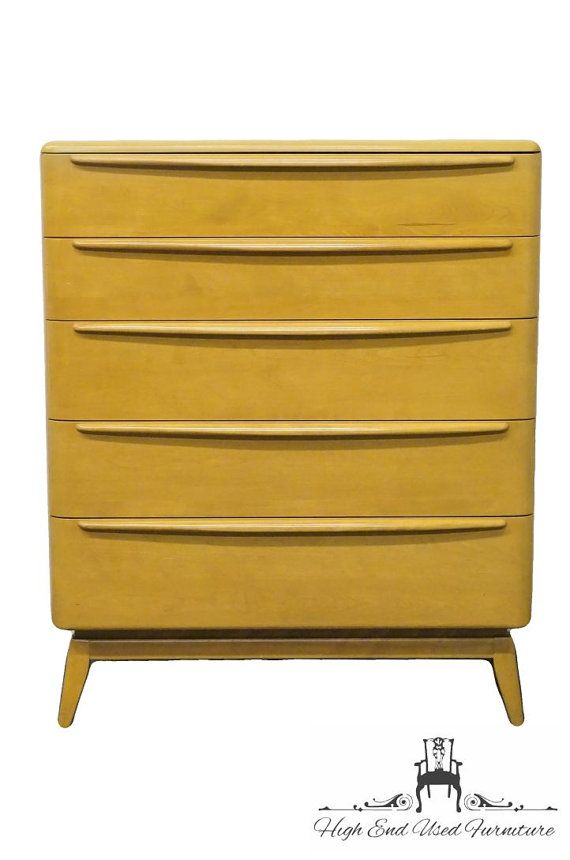 HEYWOOD WAKEFIELD Encore Collection 36″ Chest of Drawers M1512 Wheat Finish