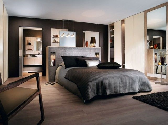 Suite parentale mobalpa hotel guest suite pinterest for Decoration suite parentale moderne