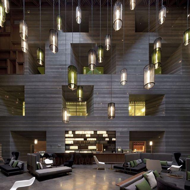 Le Meridien Zhengzhou designed Neri&Hu Design and Research Office.  #d_signers #d_signersIn