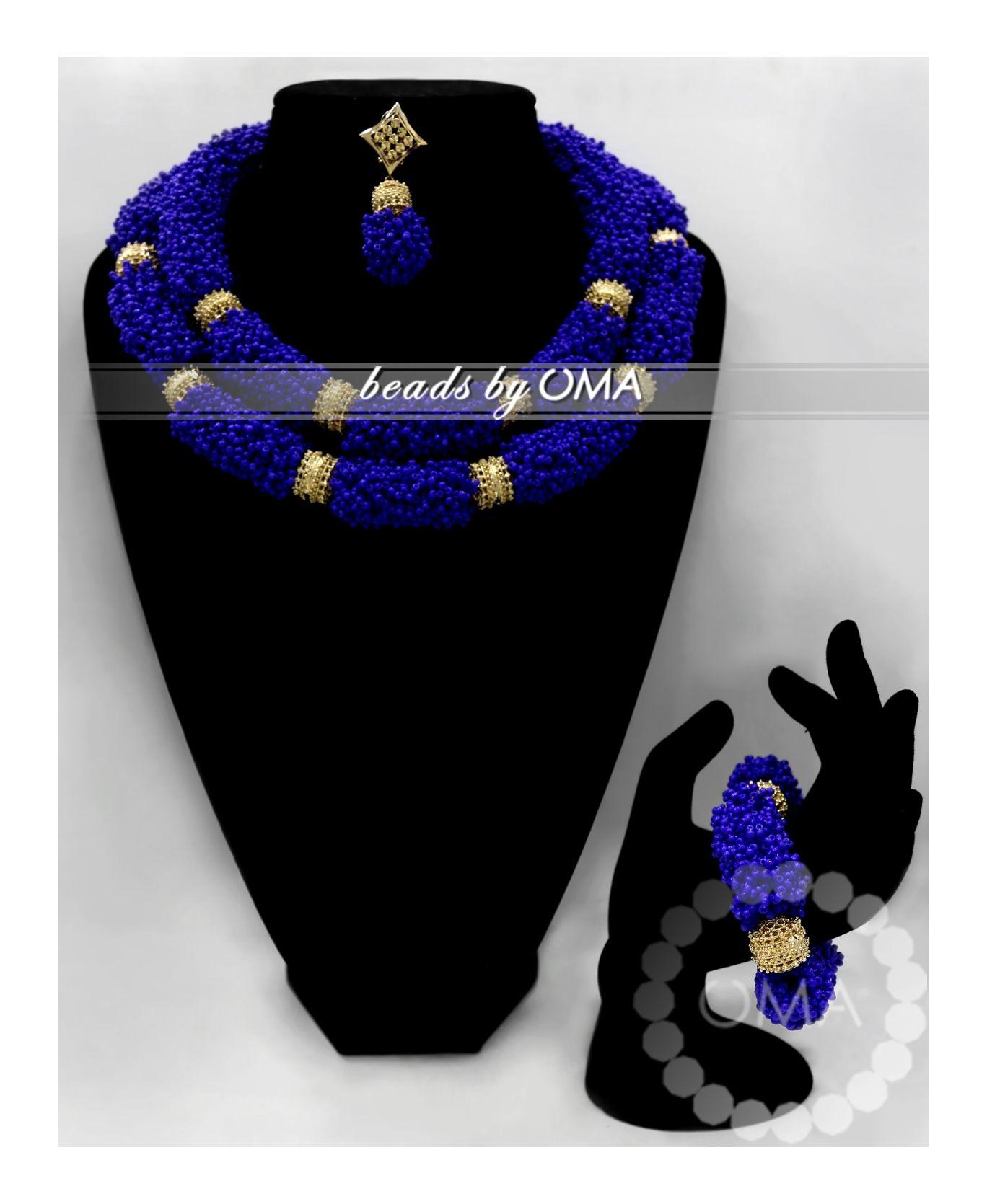 nigerian beads designs - Google Search | Nigerian beaded jewelry ...