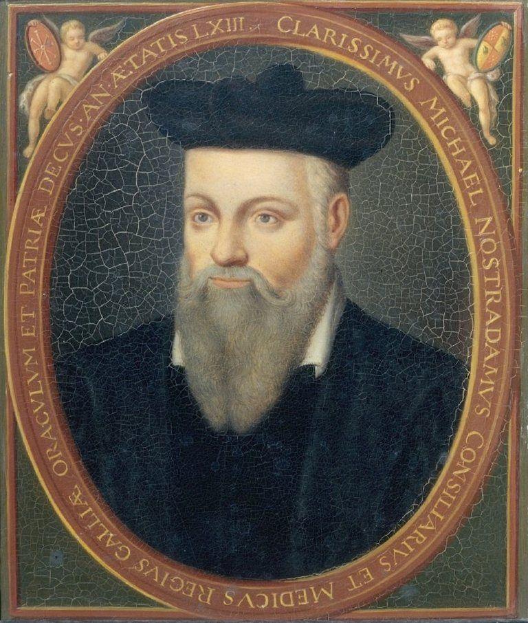 Top 7 Predictions Nostradamus Prophecies Pouted Com History Historical Figures Prophecy