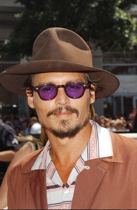 Johnny-Depp-les lunettes préférées de la star-Moscot   Vu sur les ... 13eebb44041f