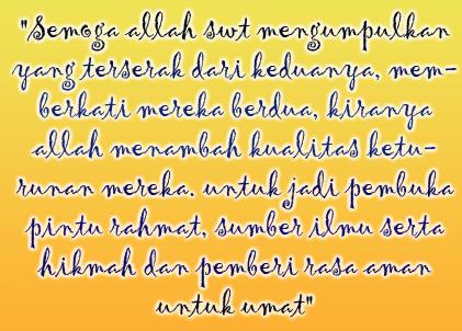 Kata Mutiara Islami Ucapan Pernikahan Kata Kata Mutiara