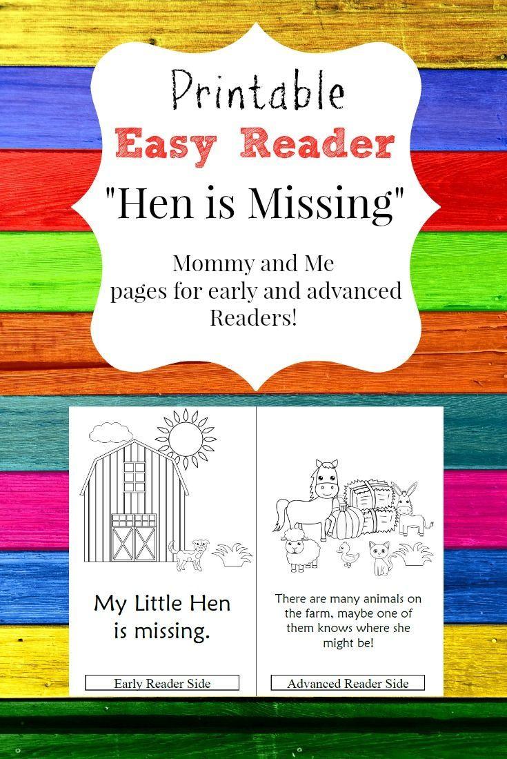 Printable Easy Reader - \