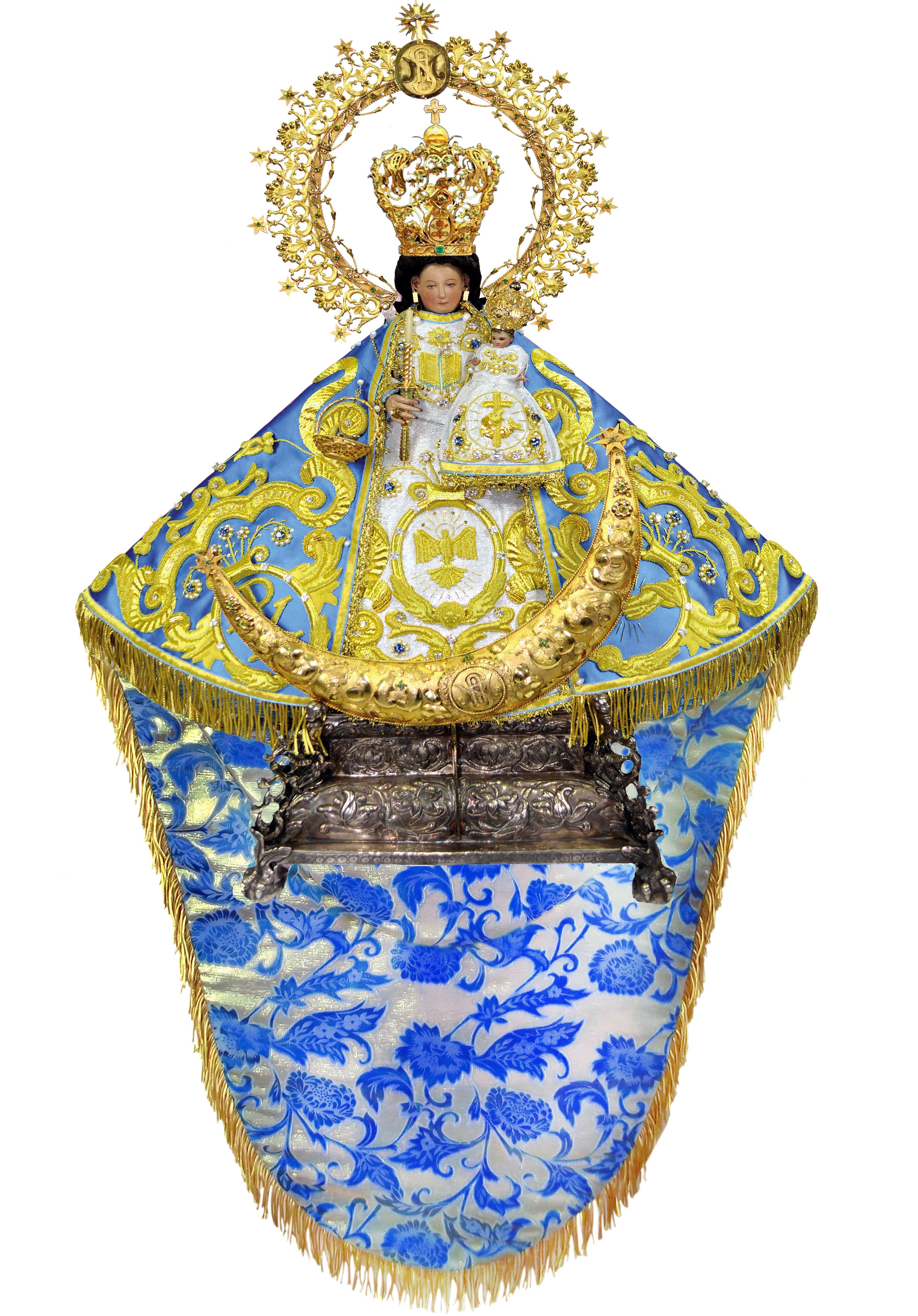 Pin En Virgen De Santa Anita Abogada De Los Enfermos