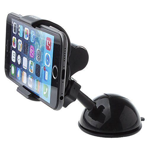 TecHERE Clippo - Supporto universale di alta qualità per auto con ventosa - Porta telefono / smartphone / cellulare per iPhone 6s 6 6plus 5 5s 5c 4s, Samsung Galaxy S7 S6 S5 S4 S3, Nexus, Lumia, Sony Xperia, LG, Asus, Motorola, Huawei, navigatore GPS ed altri dispositivi di larghezza fino a 9 cm - Regolabile con rotazione 360° - Nero TecHERE http://www.amazon.it/dp/B01E047AN6/ref=cm_sw_r_pi_dp_dpRdxb14E8ZXM