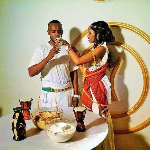 Nina and Farid - Ethiopian wedding - Gufta Mowgad | Jamie ... |Traditonal Somali Weddings