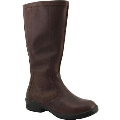 Keen Tyretread Zip Wp Tall Dress Boots - Womens Cascade Brown