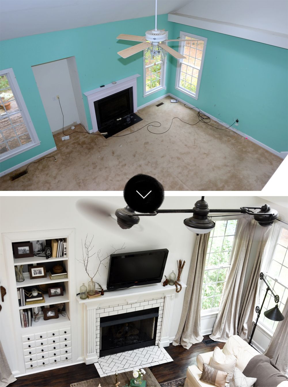Forclosure Remodel: Before & After: A Reclaimed Traditional Brick Foreclosure